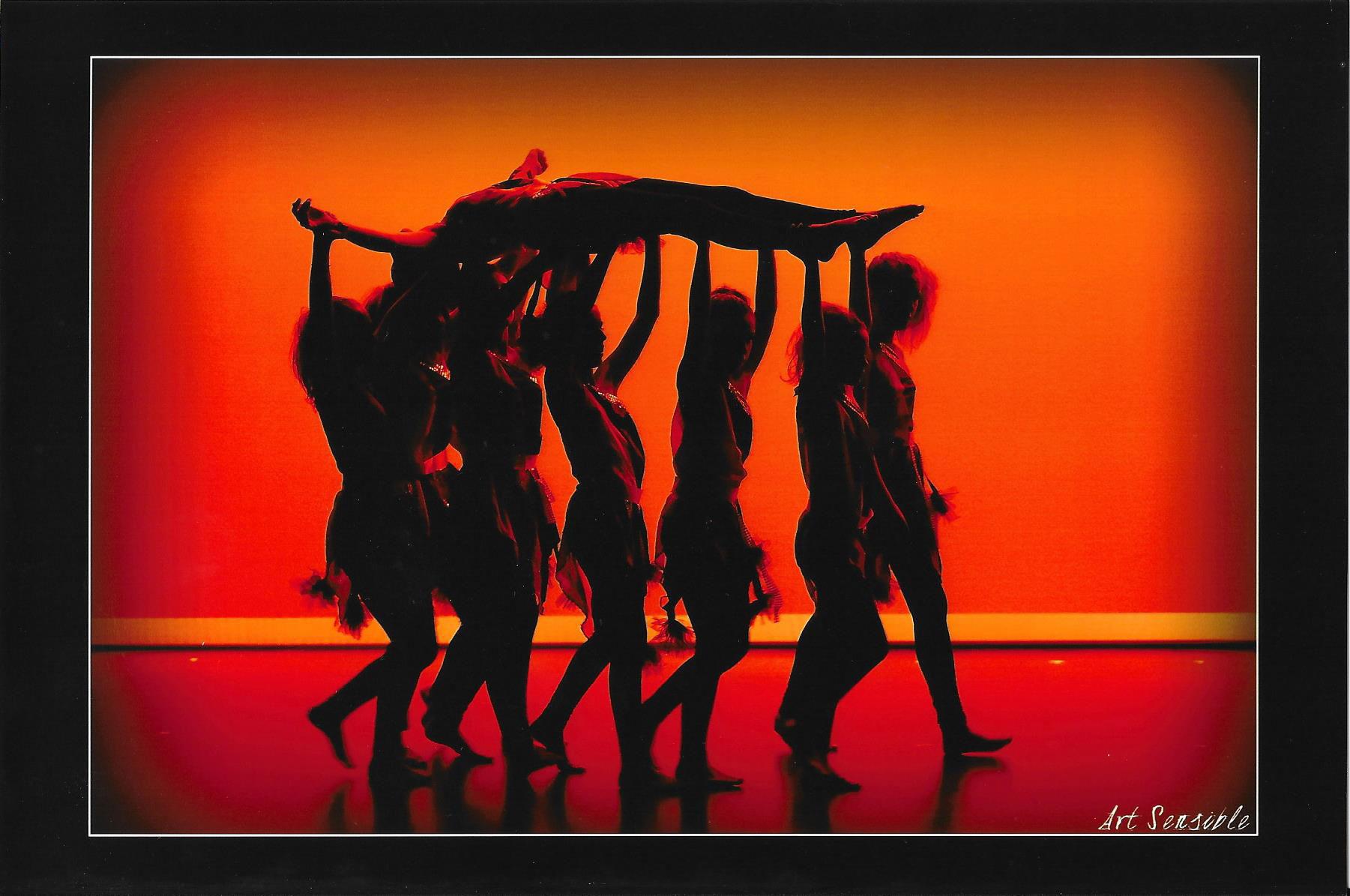 porté lors du spectacle 2015 de l'école de danse KHD à mont de marsan