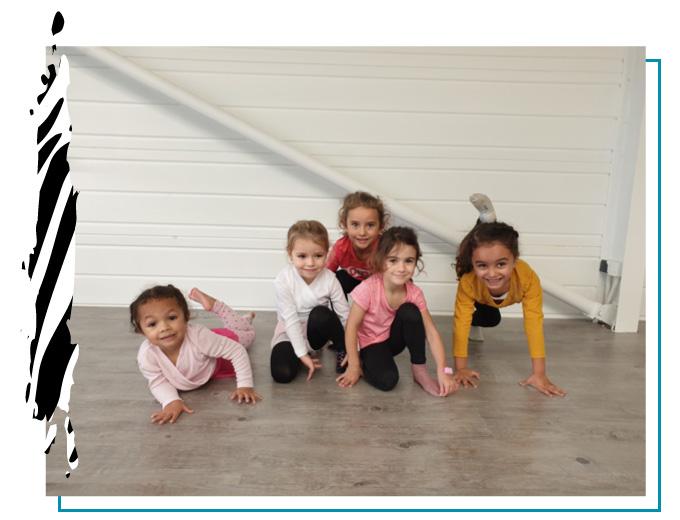 cours des mouflettes danse pour les 4 5 ans